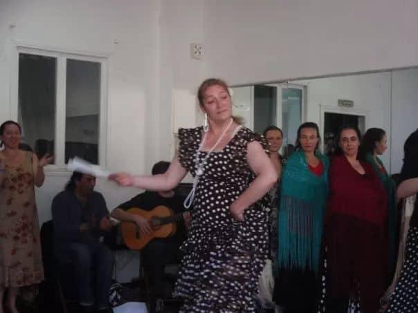 Véronique RIZA - 2009 - Répétition du Spectacle de Fin d'Année de Elvira Velasco & Marisol Jimenez 002