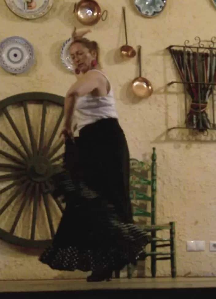 Véronique RIZA- 2011 - Spectacle à Cadix 002 (Capture de Vidéo)