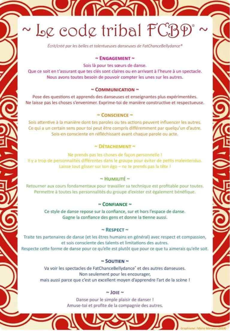 Le code tribal