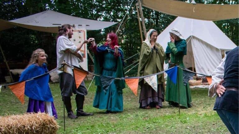 Camp médiéval
