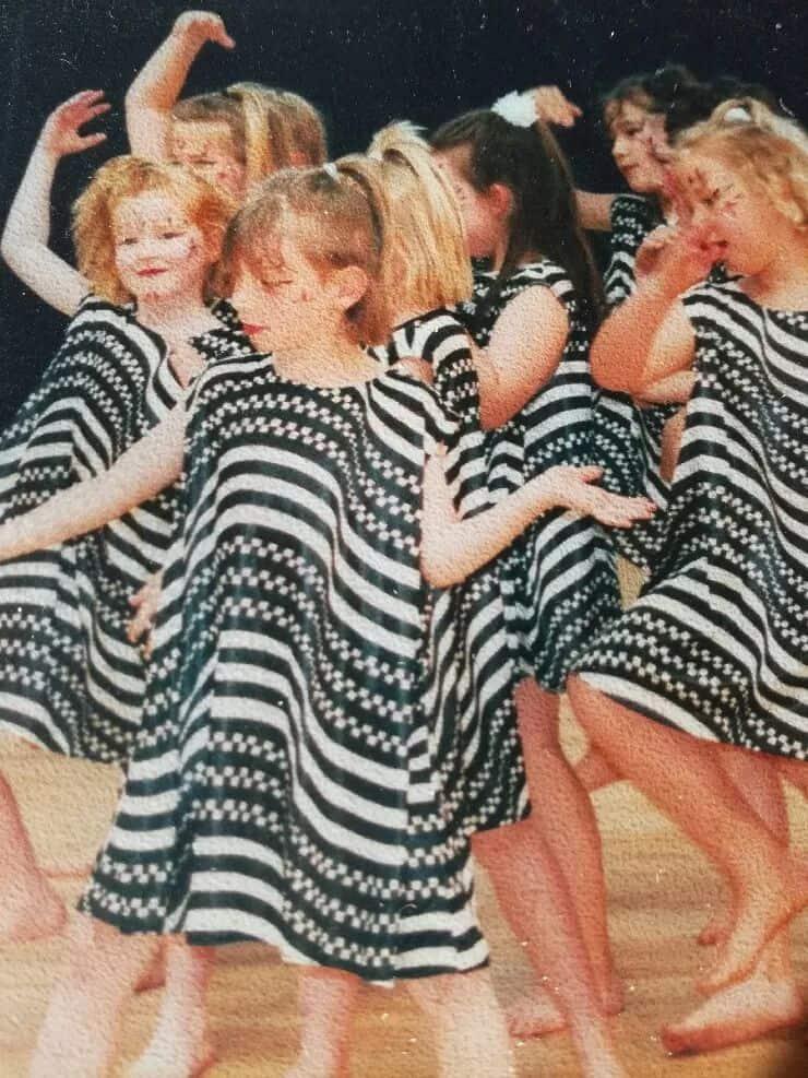 Photo de danseuses enfant