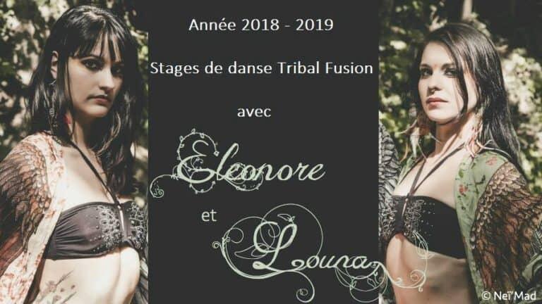 Stages de danse tribal fusion avec Eleonore et Louna
