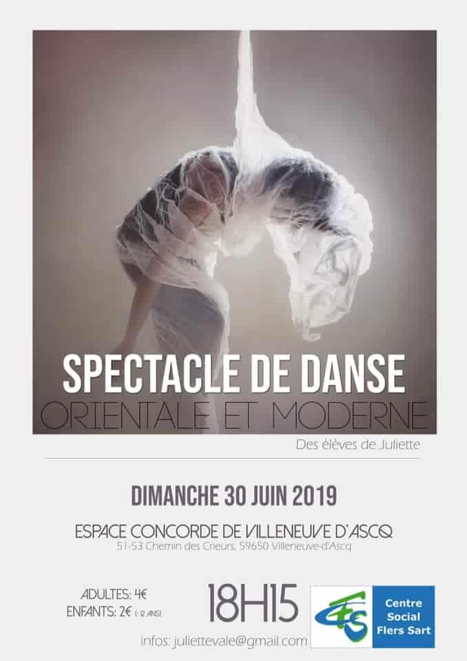 Gala de danse des élèves de Juliette