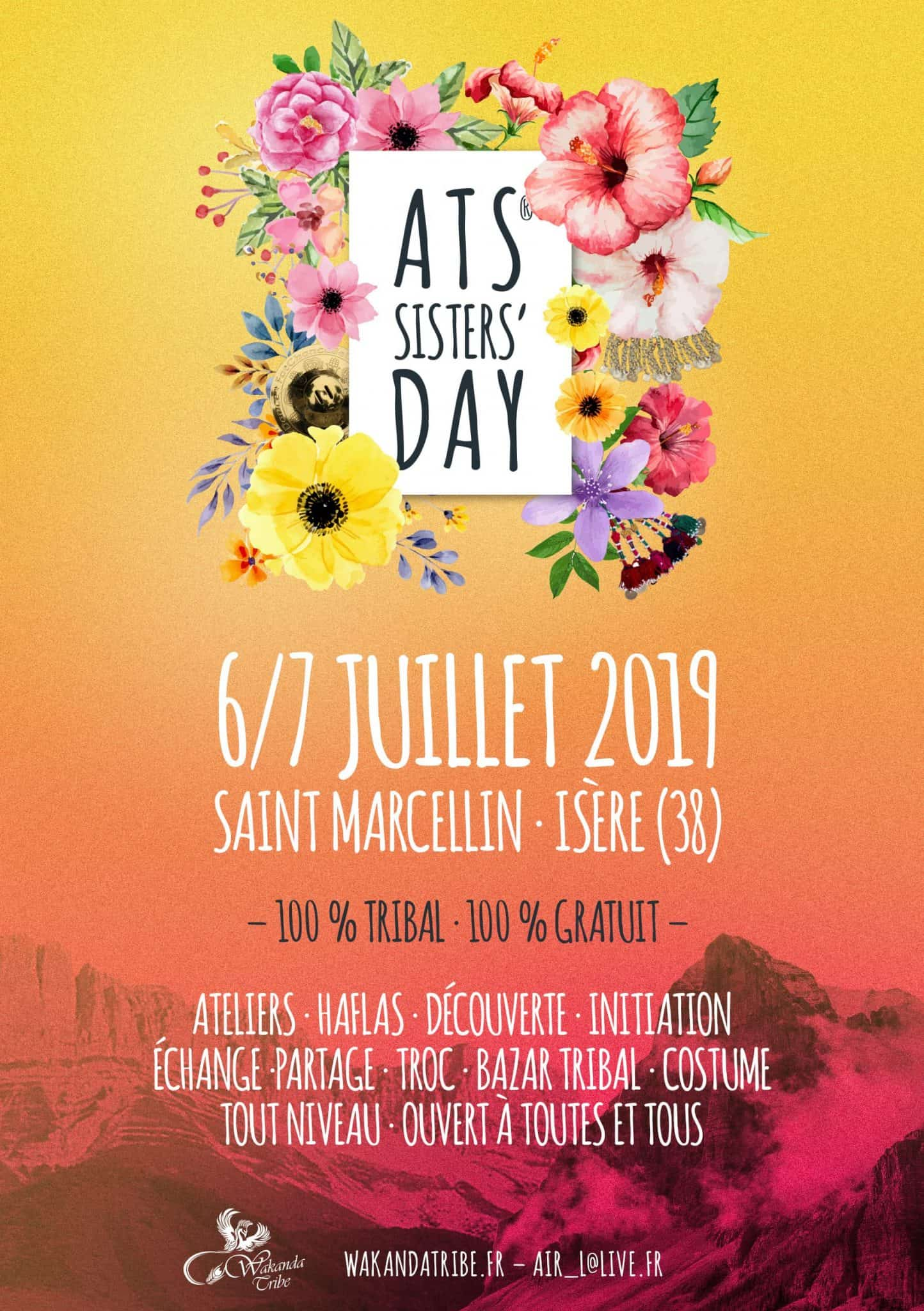 Flyer ATS Sisters Day