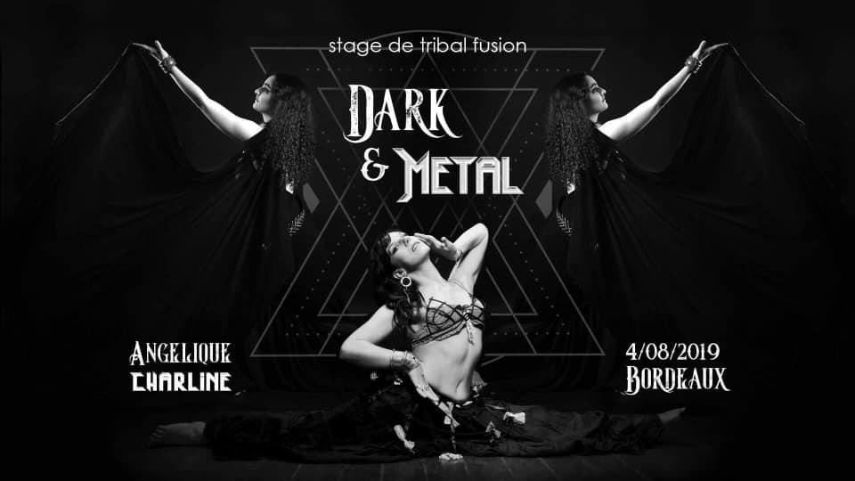 Stage Dark Fusion et Metal Bellydance