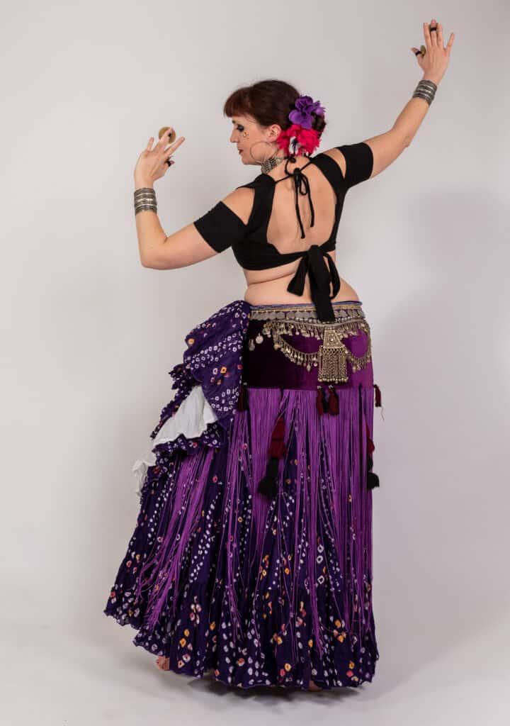 Photo de danseuse avec des sagattes