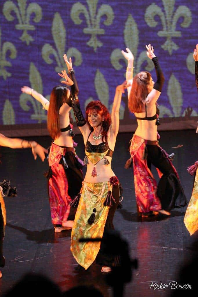 Danse sur scène