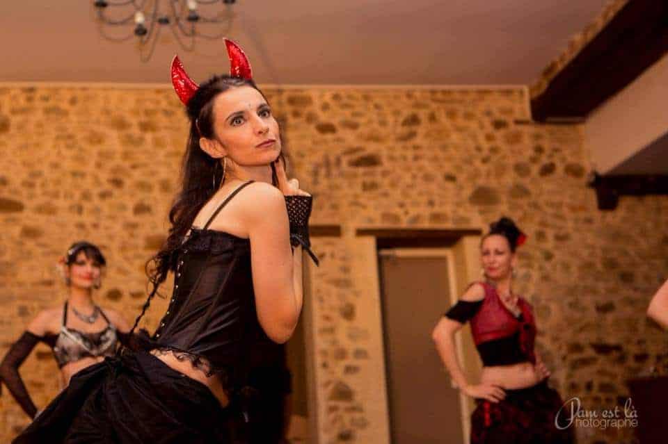 Danseuse en diable