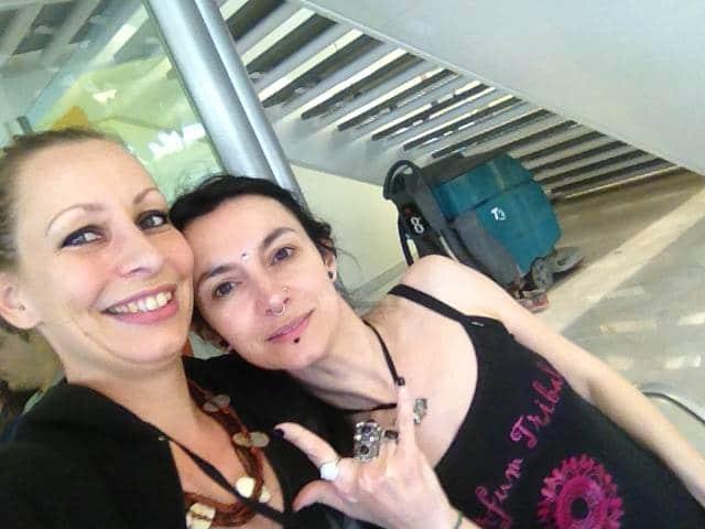 Selfie de Margot et Julie