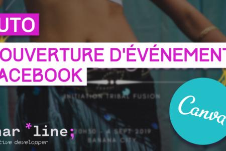 Tuto design : une couverture d'événement facebook en 5min!