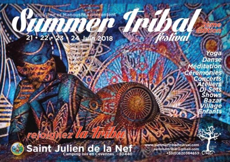Visuel Tribal Symmer Festival