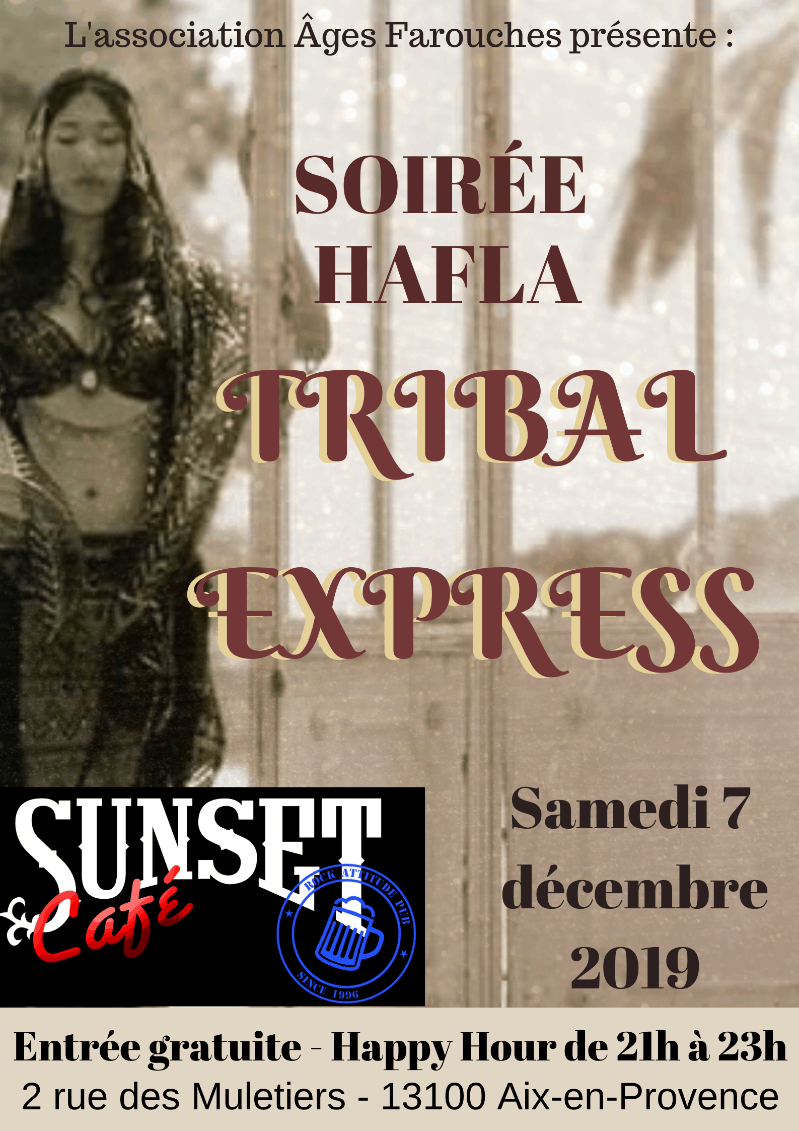 Tribal Express – Hafla Party