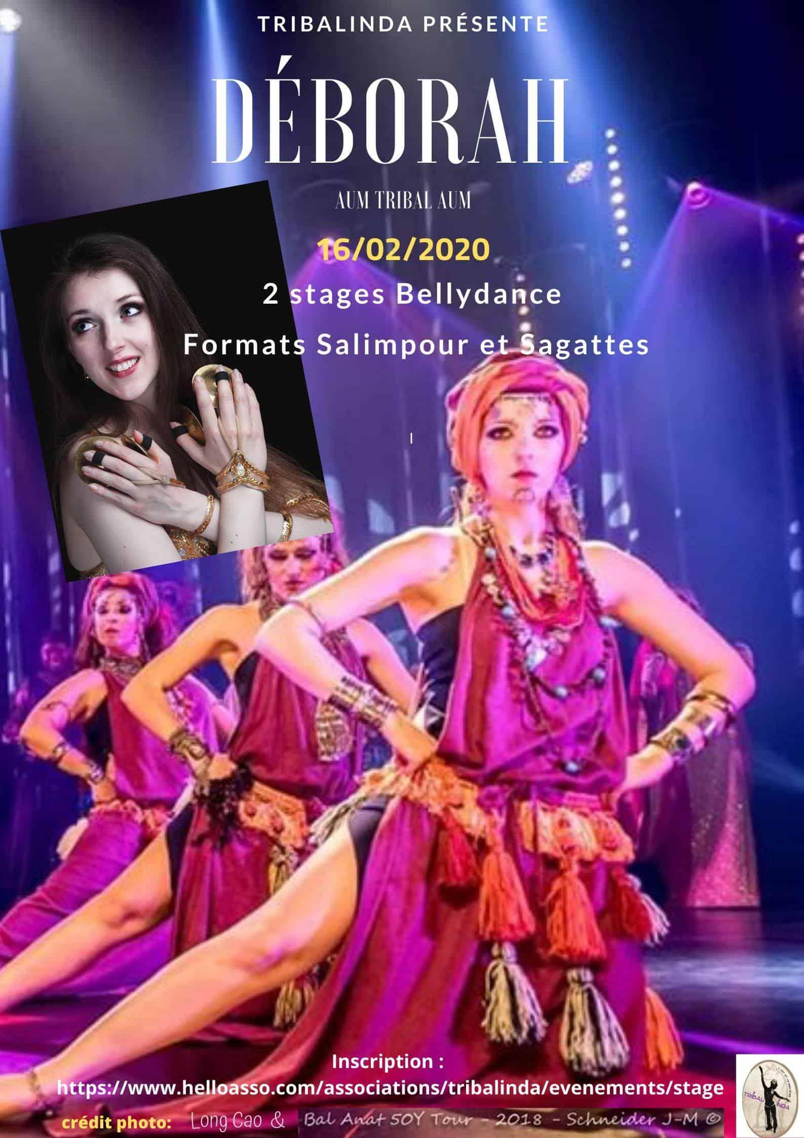 Affiche stage sagattes Tribalinda février 2020
