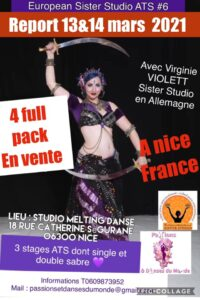 European Sister Studio #6 French Riviera – 13 & 14 mars 2021 à NICE