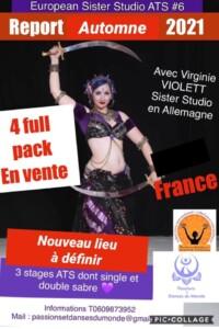 European Sister Studio #6 avec Virginie VIOLETT – FCBD et sabre _ automne 2021 à GILETTE